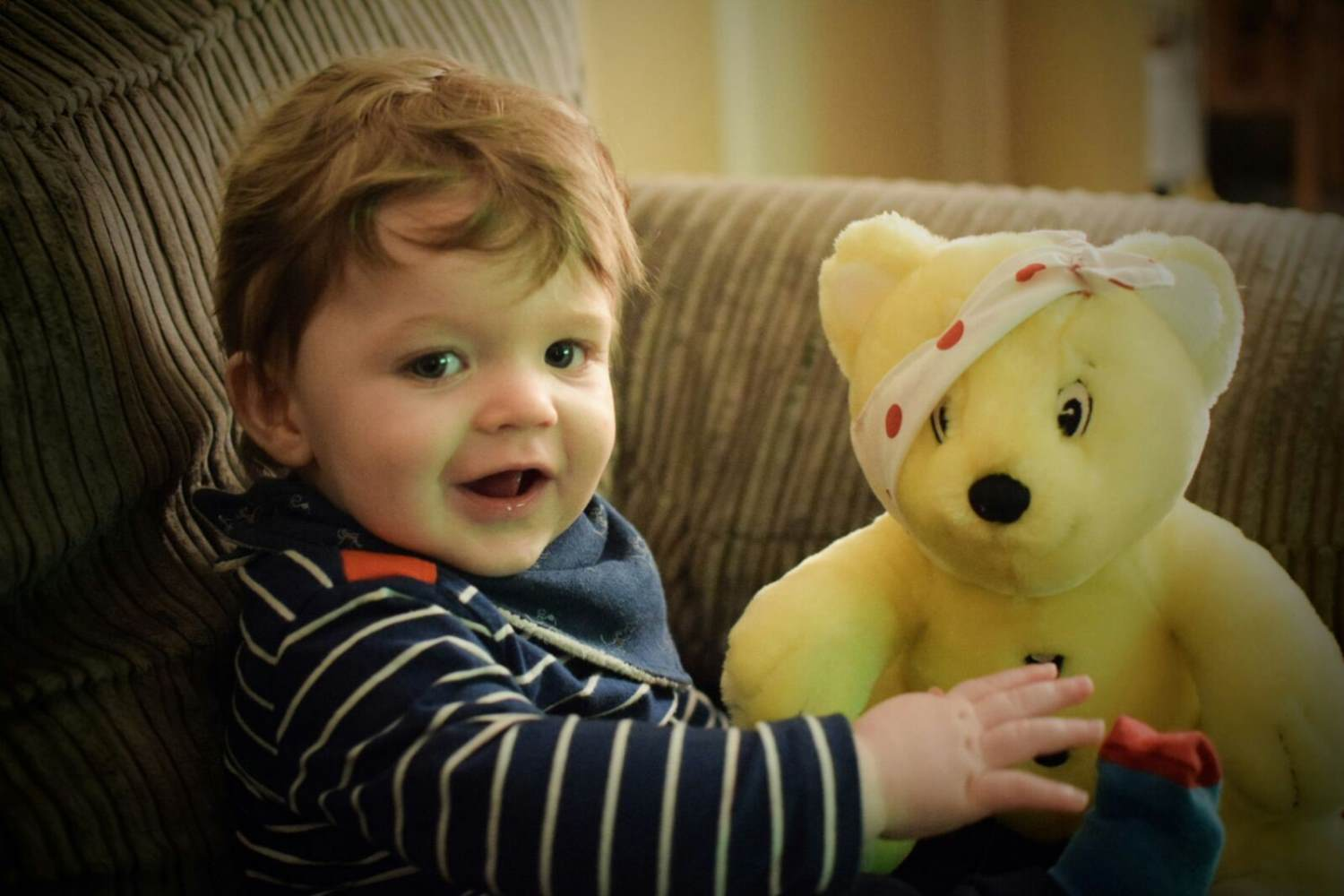 Mr Dempsey's Son with Pudsey